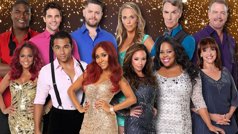 Le casting de dancing with the stars