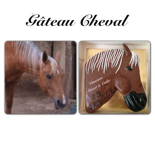 G teau cheval vanessa sweet cake - Decoration gateau cheval ...