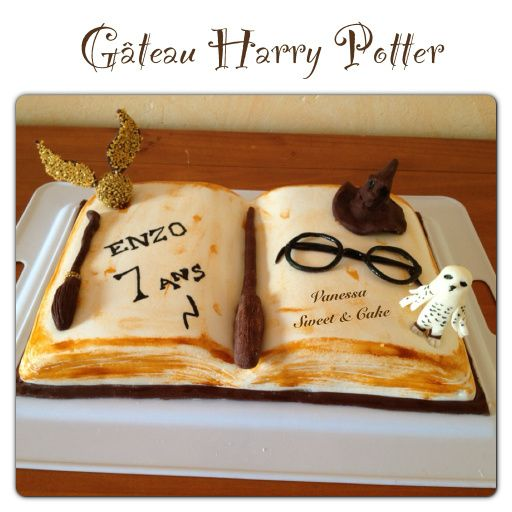 g teau livre harry potter vanessa sweet cake. Black Bedroom Furniture Sets. Home Design Ideas
