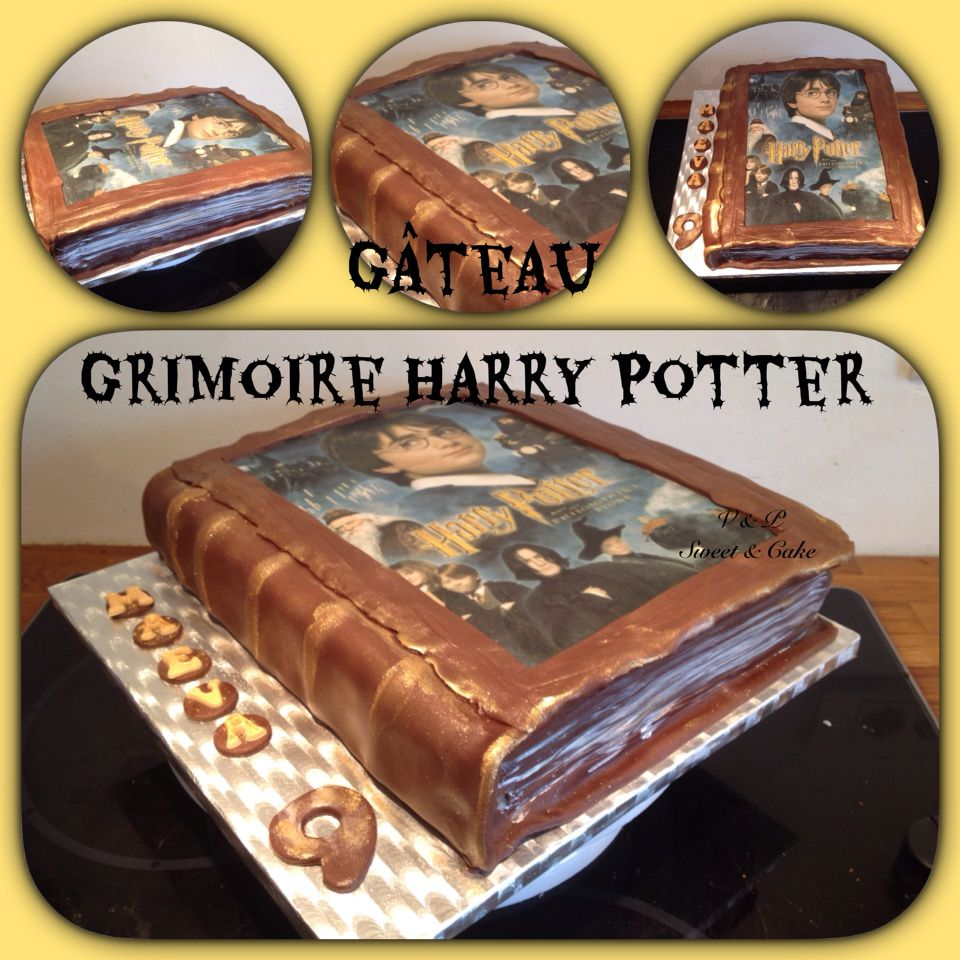 g teau harry potter vanessa sweet cake. Black Bedroom Furniture Sets. Home Design Ideas