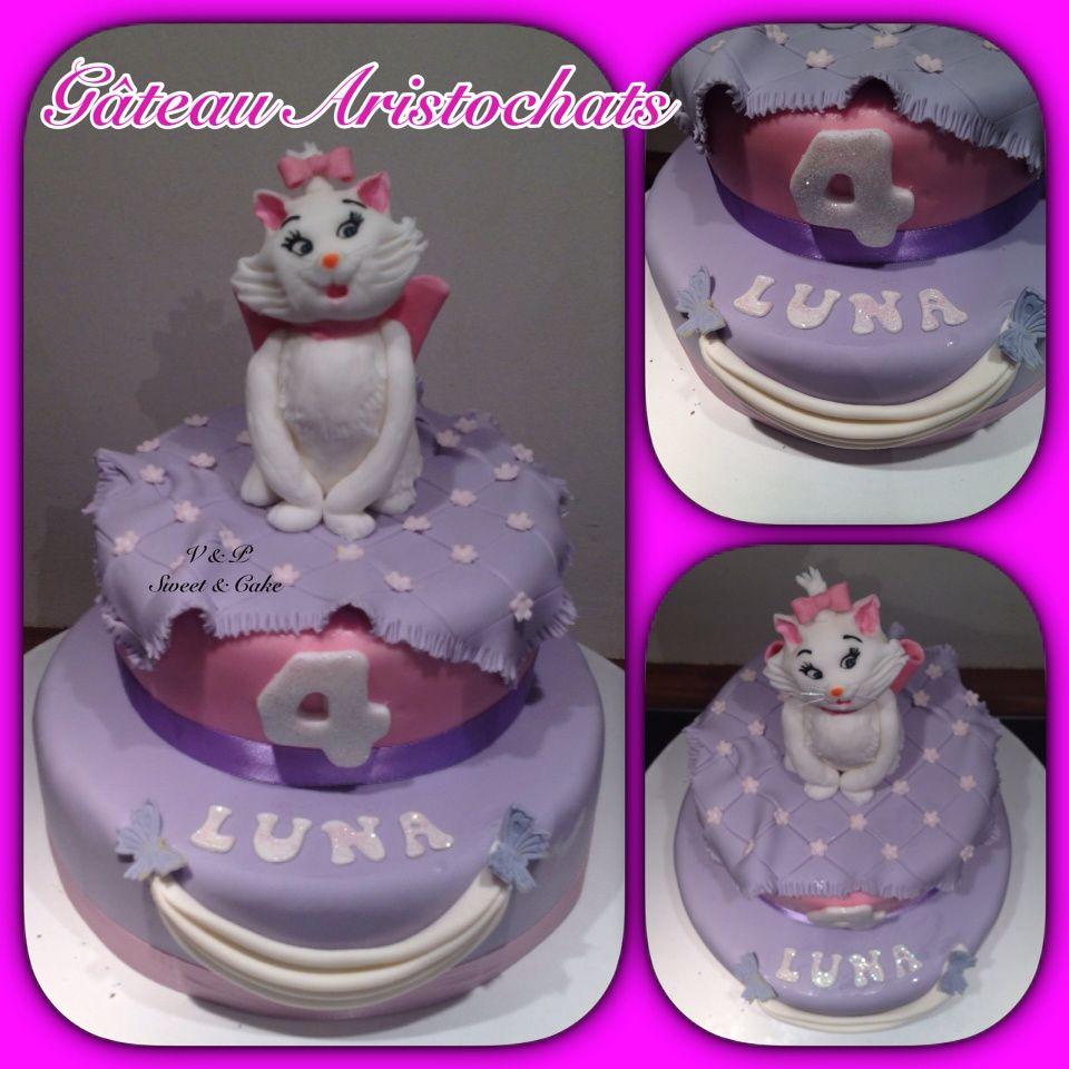 Decoration Gateau Aristochats
