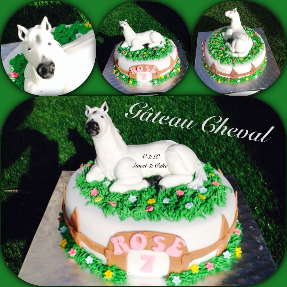G teau cheval blanc vanessa sweet cake - Decoration gateau cheval ...