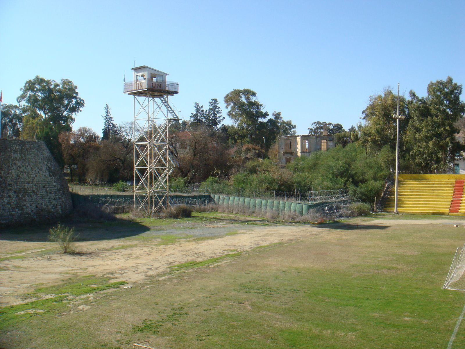Zone verte administrée par l'ONU (Nicosie, 2011).