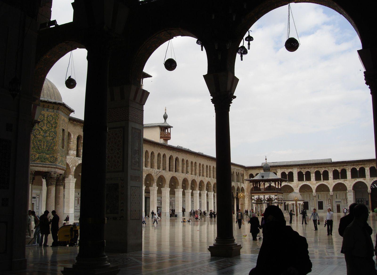 Mosquée des Omeyyades à Damas, en 2009. (Crédit photo © Boudour Moumane)