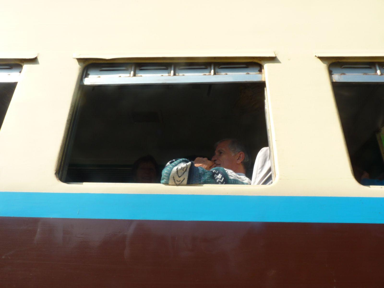Train Hsipaw à Meymio - Bus Meymio à Mandalay