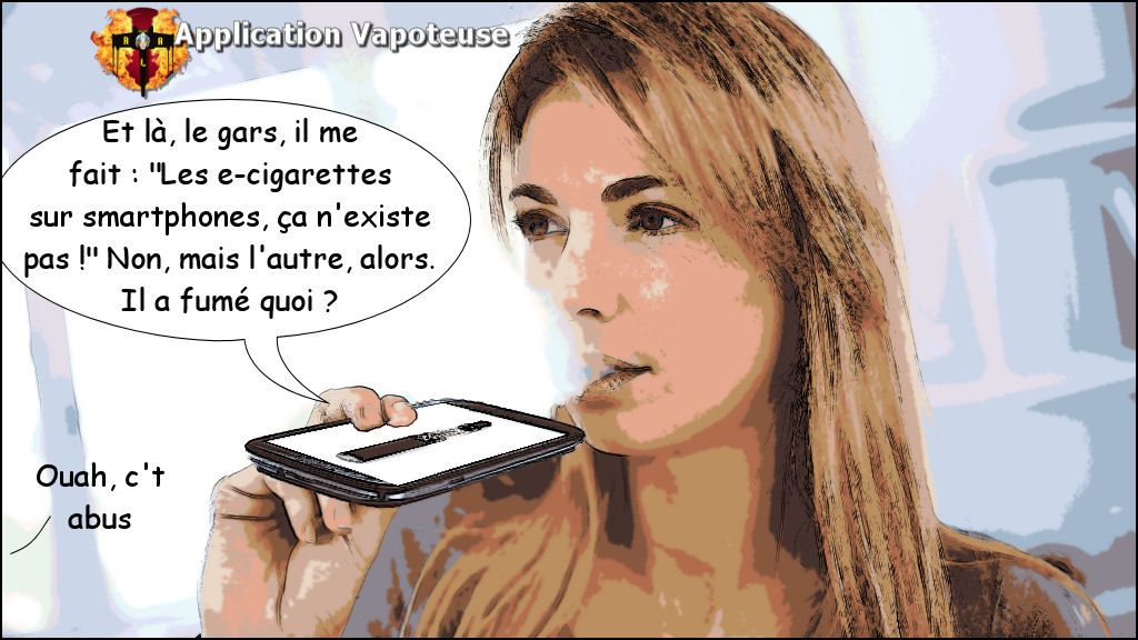 Application Vapoteuse
