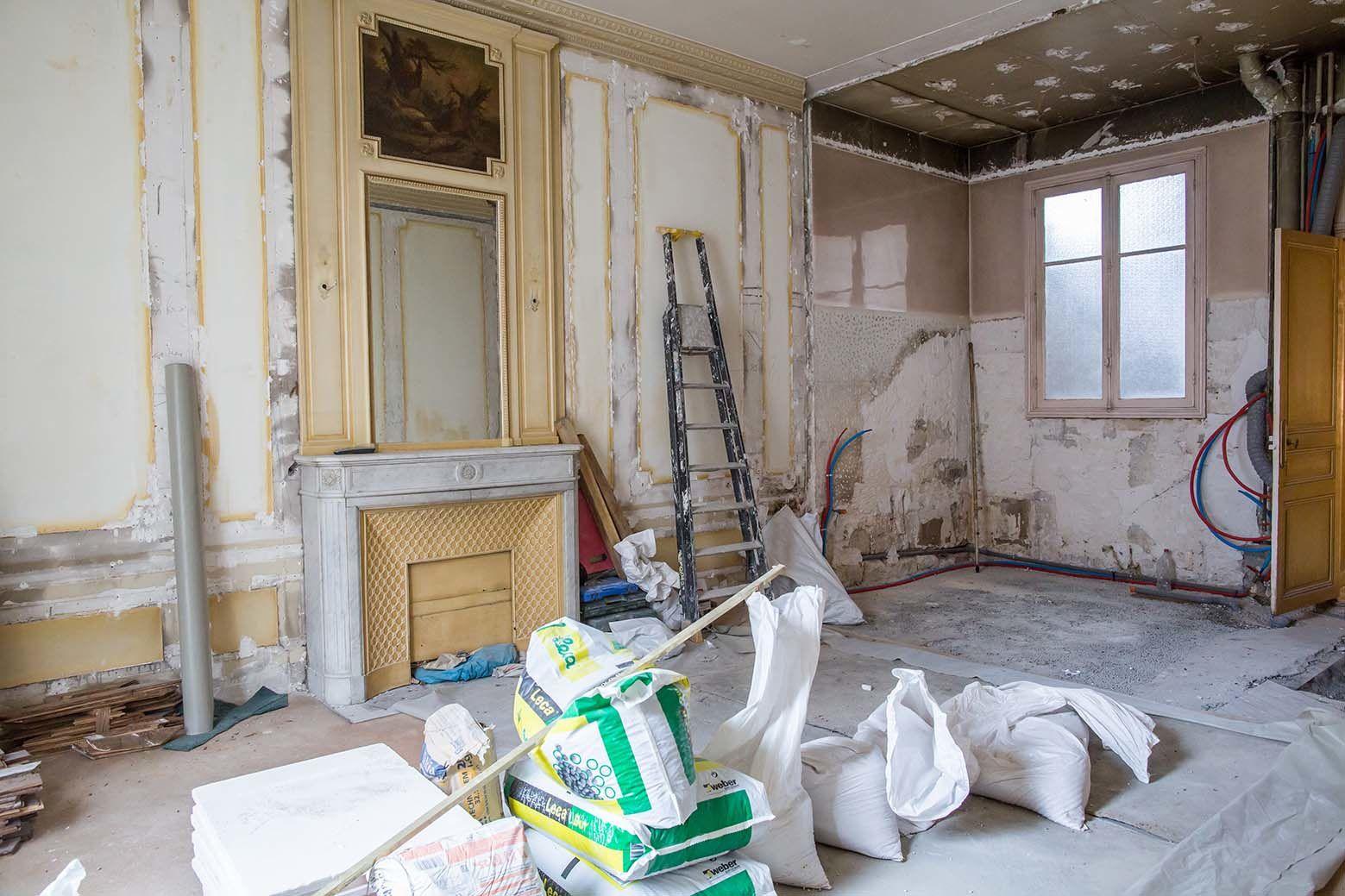 Restructuration d'un appartement de 300 m2