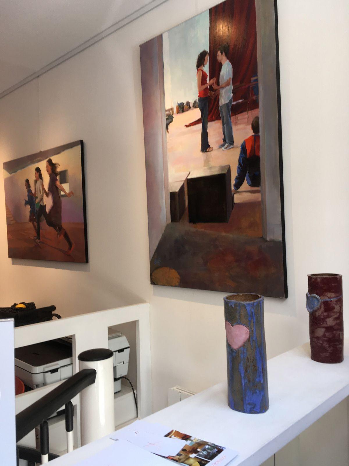 Exposition des peintures de Béatrice Roche Gardies