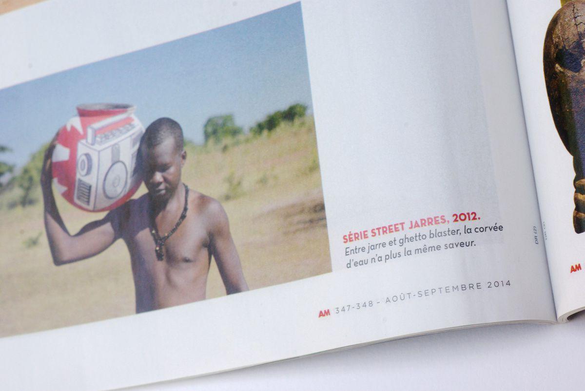 Publication dans Afrique Magazine