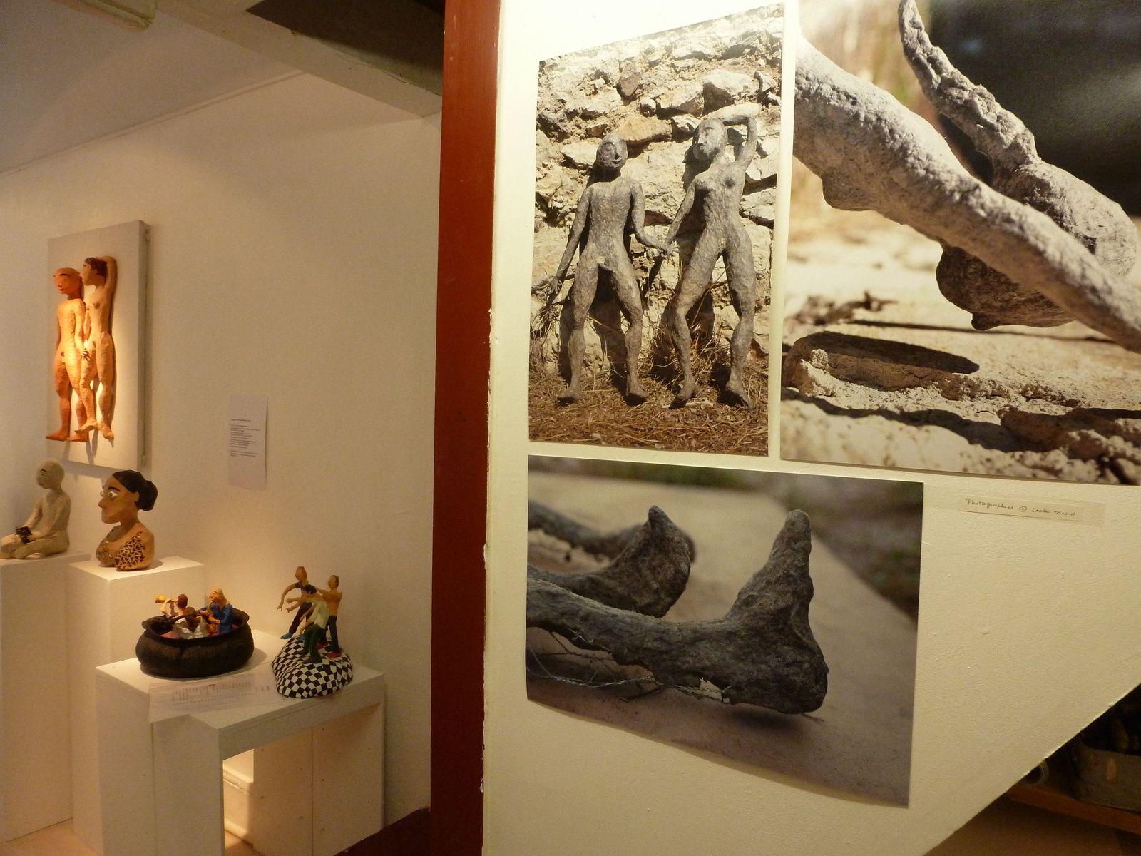 Mon expo au Losange en images (fév.2015)