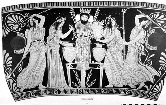 vie de dionysos - sur les pas du danseur - (1) - vivez en transe