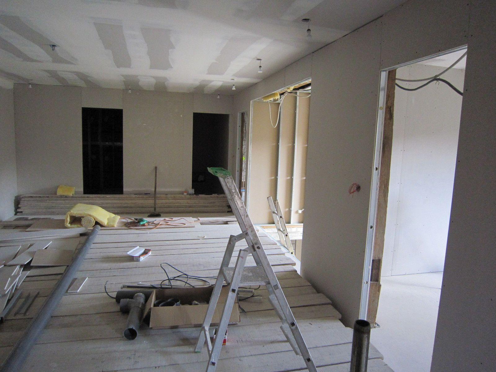Placo interieur grange de for Cloison interieur placo