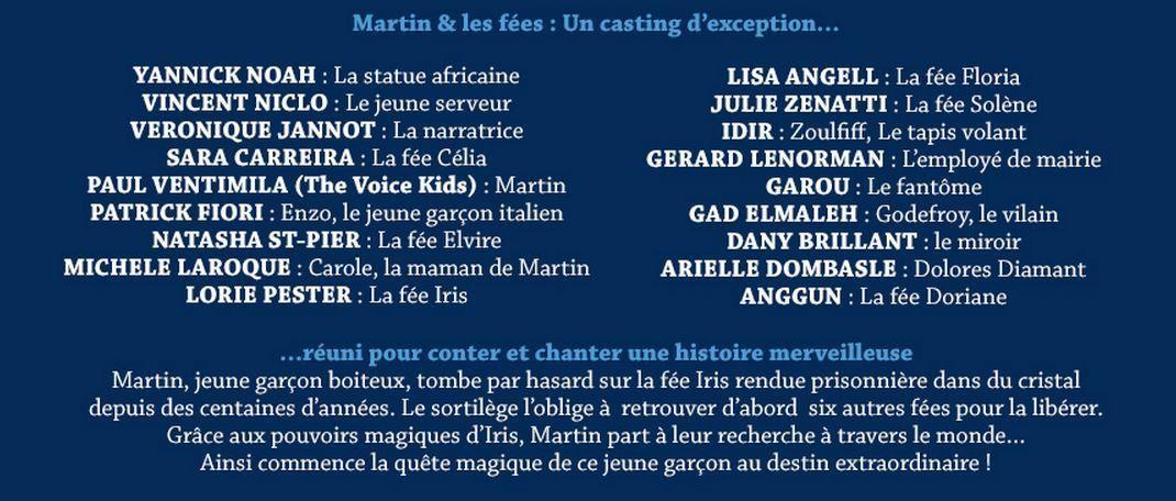 Martin &amp&#x3B; Les Fées : le double-album magique de cette fin d'année est disponible !