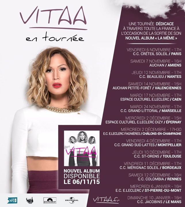 INTERVIEW DE VITAA - 03 NOVEMBRE 2015