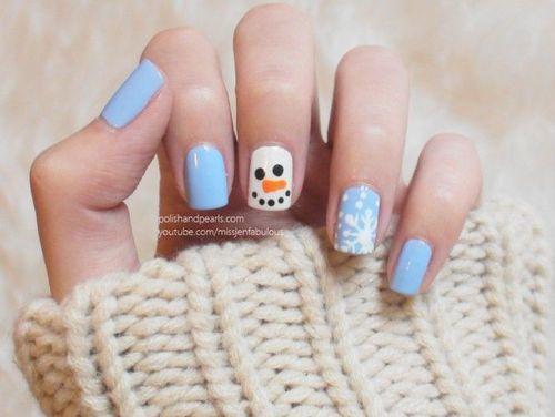 nail art hiver facile