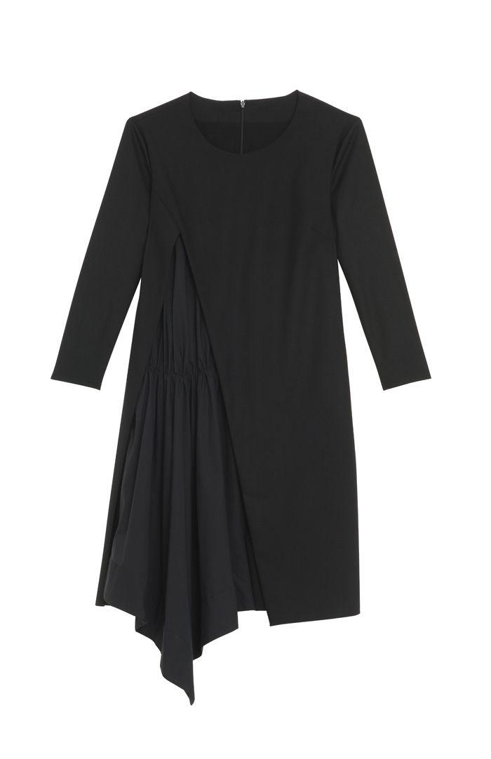 robes de mode petite robe noire monoprix. Black Bedroom Furniture Sets. Home Design Ideas
