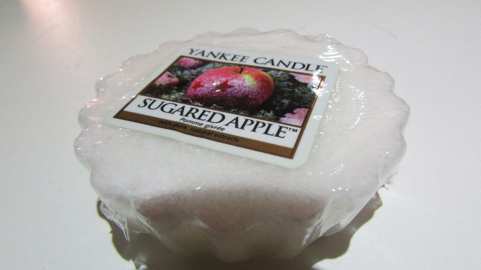 Sugared Apple :la recette juteuse de pomme chaude saupoudré de sucre & vanille un regal je l'adore