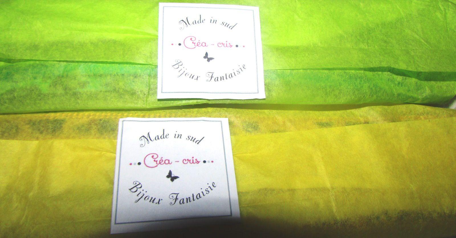 Manchette Léopard Love Summer Vert Eau signée Créa- Cris +CONCOURS A SUIVRE