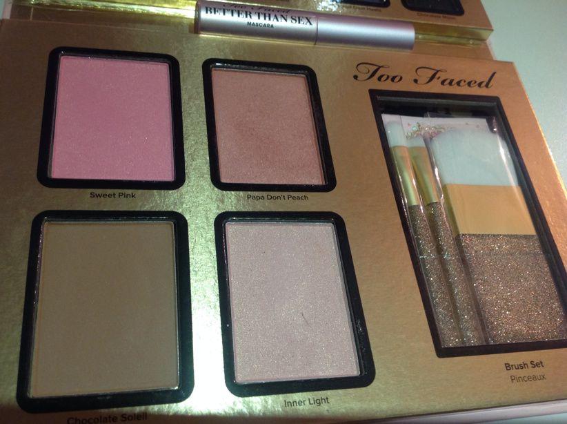 Everything Nice de Too Faced :La palette complète