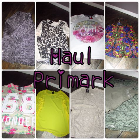 Primark Haul :My first Time