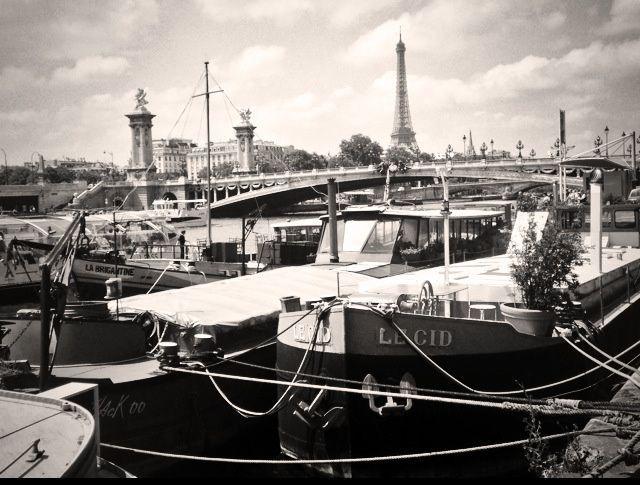 FOUILLI D'EIFFEL #photo #pic #Seine #Paris