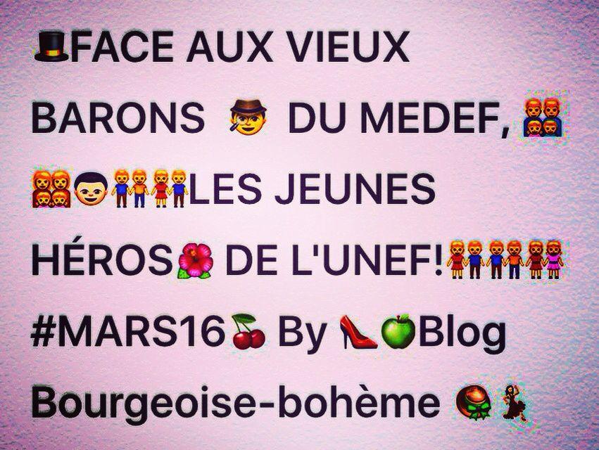 ICONOGRAPHIE DE LA CONTESTATION #MARS16 #LOIELKHOMRI