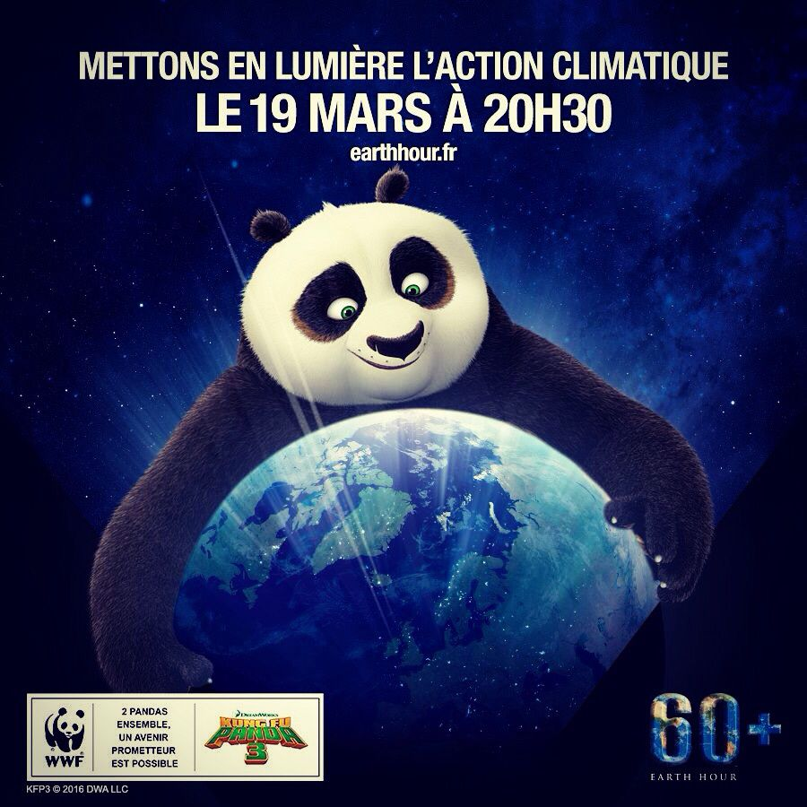 PANDA TEAM #earthhour2016