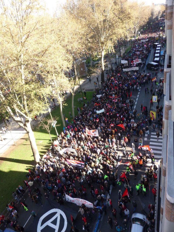 La marche du 22 Mars pour la dignité en Espagne #22Mars #DPDP