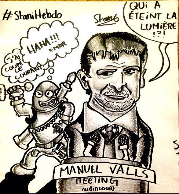 La caricature de la semaine #stanihebdo #caricature #politique
