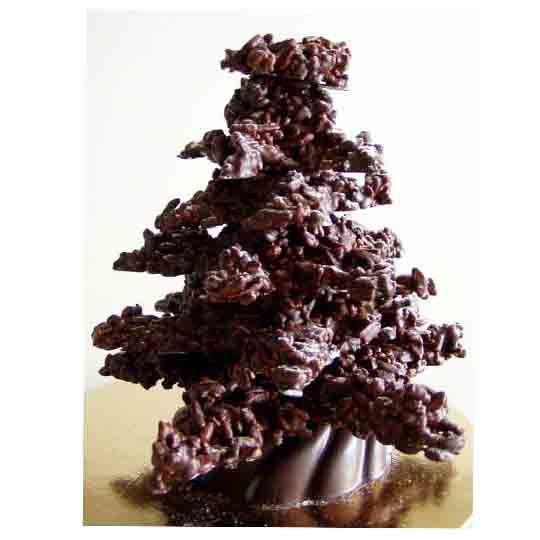 Sapin de noël en chocolat...