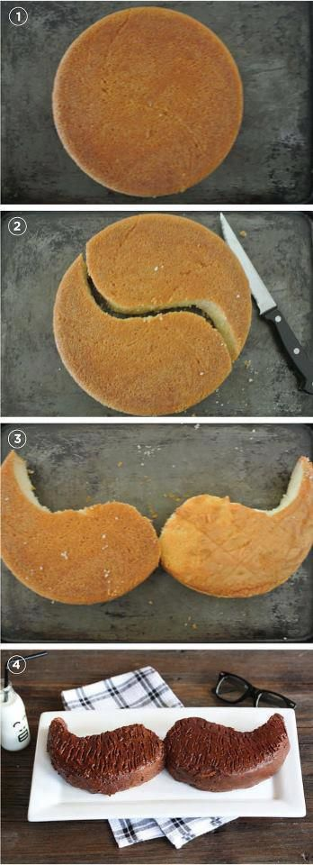 Gateau moustache...