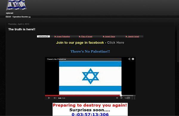 Anonymous OpIsrael: les hackers ciblent de nouveau les sites web Israéliens