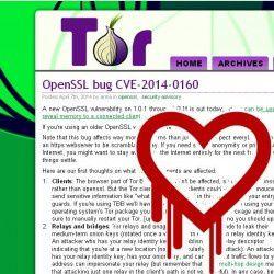 Le blocage de 380 relais effectué par Tor en réaction au bug Heartbleed d'OpenSSL a entraîné une réduction immédiate de la capacité du réseau de 12 %. (crédit : D.R.)