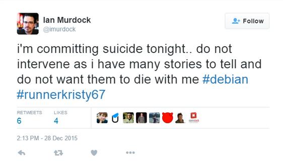 R.I.P Ian Murdock: Le fondateur de Debian Linux est décédé à l'âge de 42 ans
