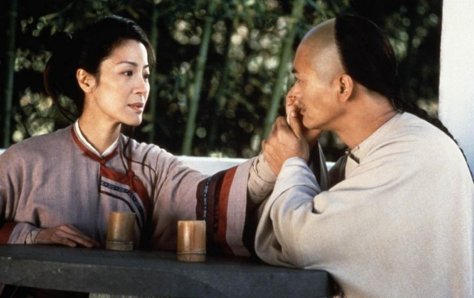 Crouching Tiger Hidden Dragon true love scene.