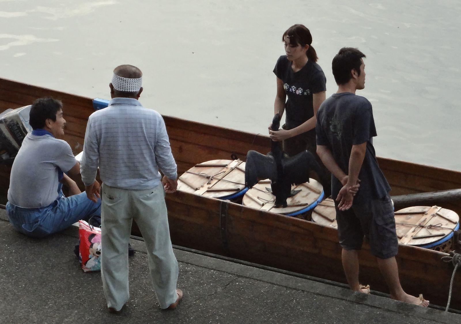 Kiso-gawa ukai, la pêche aux cormorans