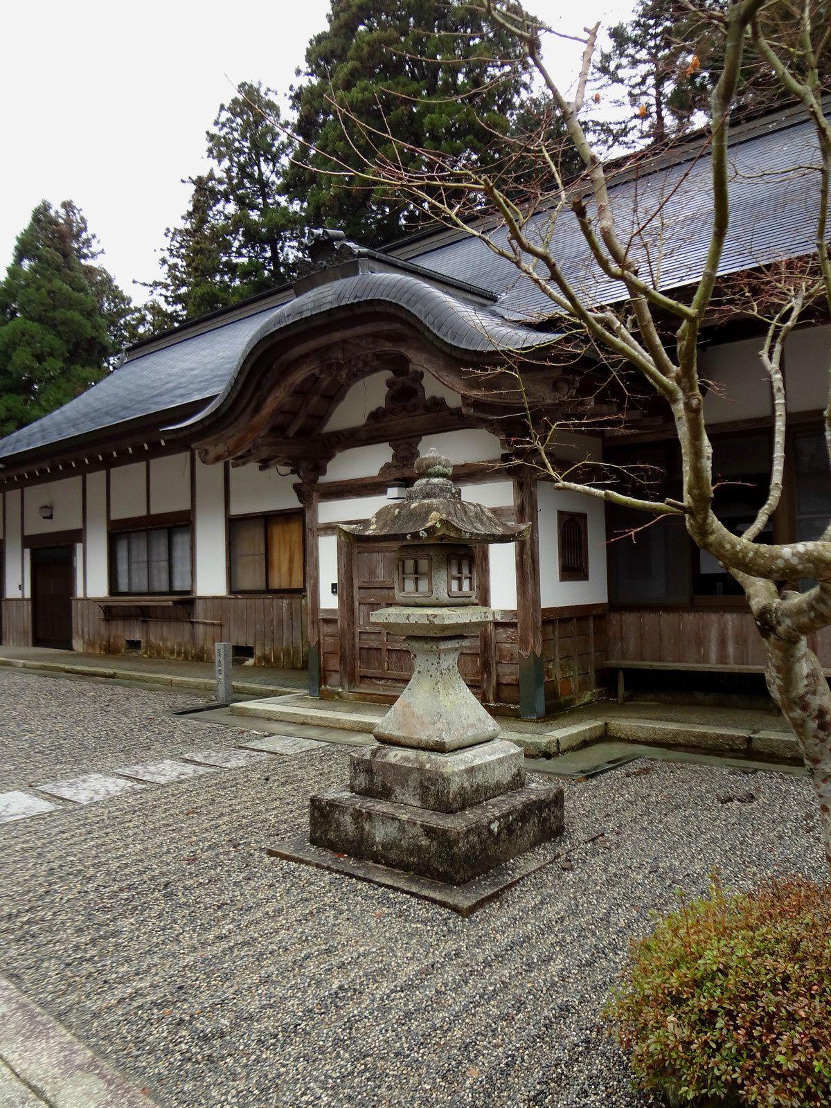 Ogoto-onsen et le Mont Hiei