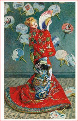 Claude Monet: La Japonaise (1876)