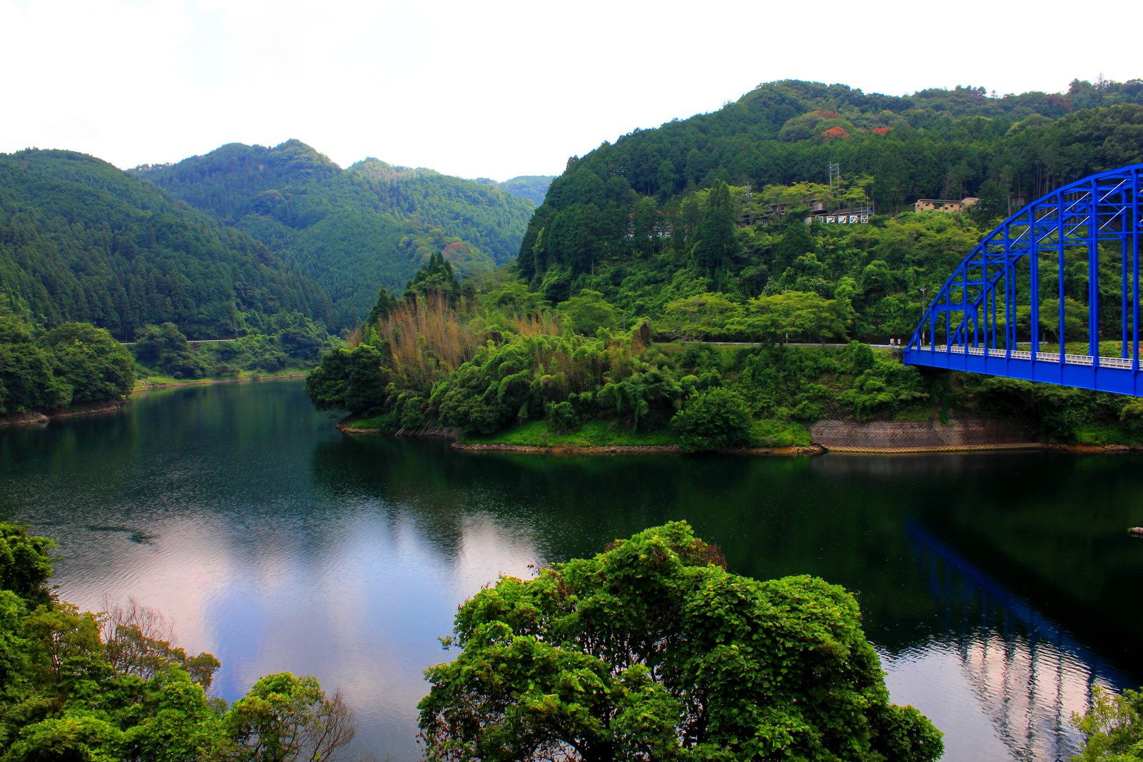 Le lac Shôrenji à Mie