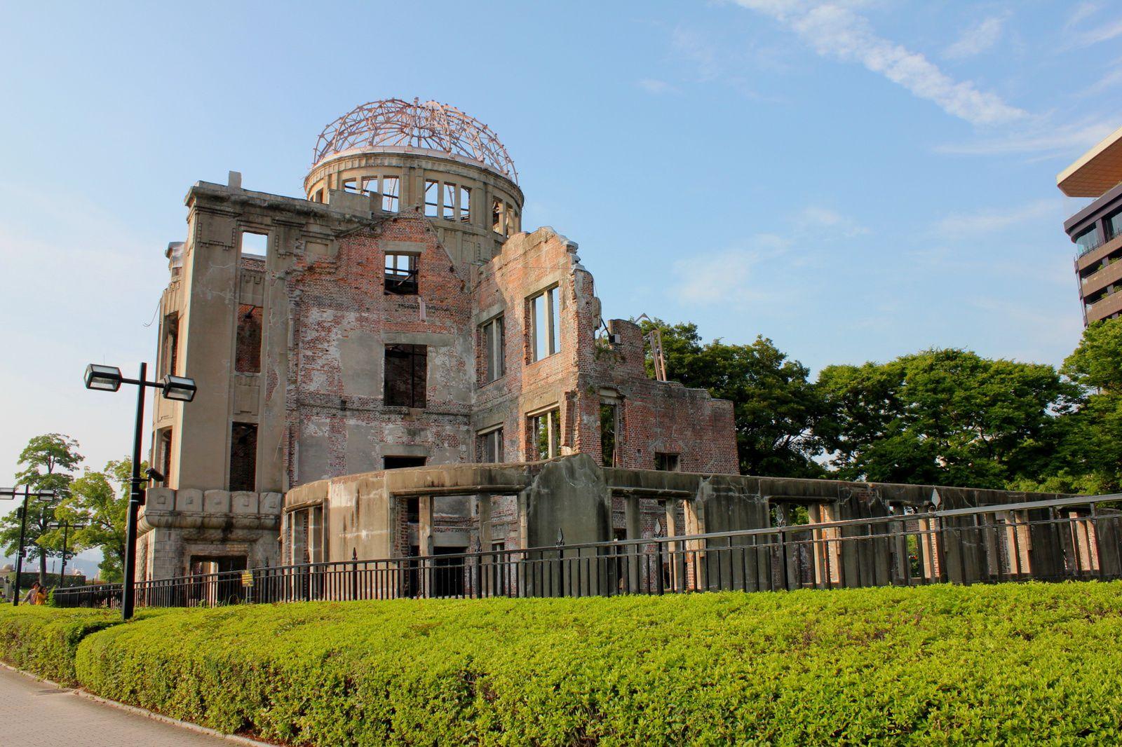 A Hiroshima, promenade de la paix