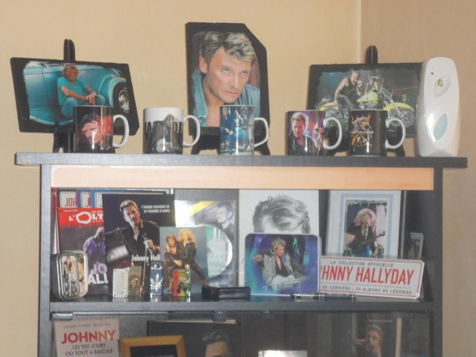 ma collection johnny hallyday. Black Bedroom Furniture Sets. Home Design Ideas