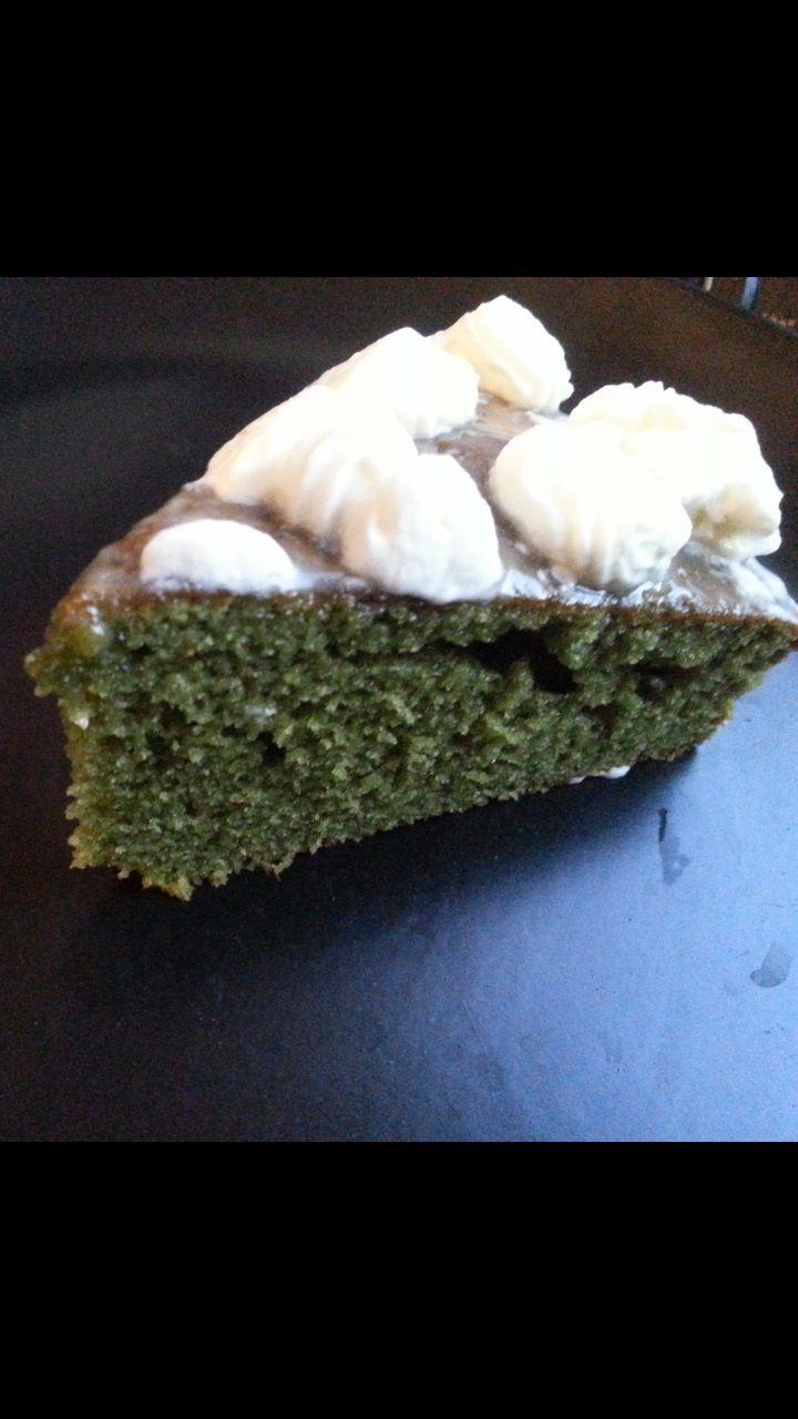 Epinard cake / Spinach cake (sucré)