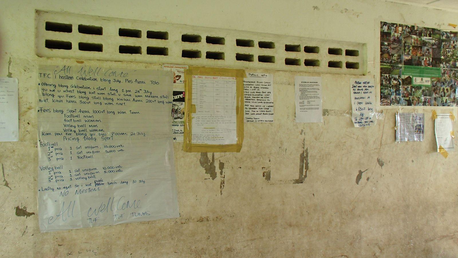VANUATU : Anecdotes d'un voyage en avion mouvementé !