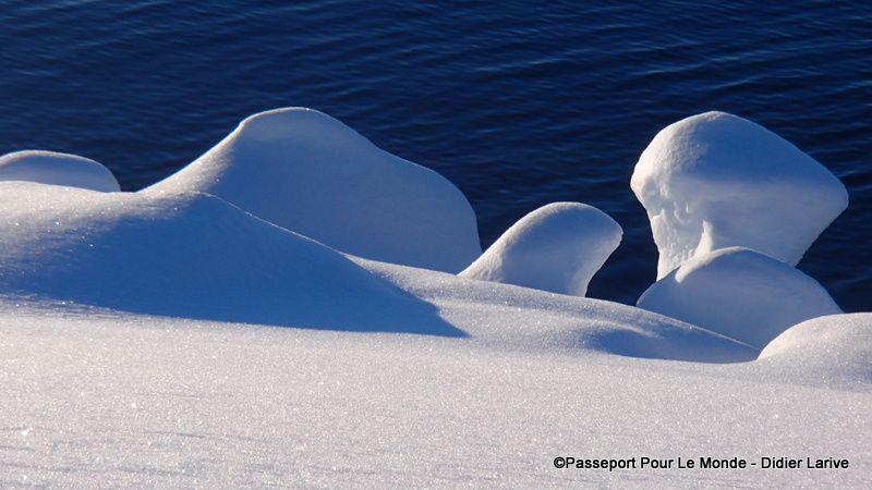 La nature façonne des sculptures de glace assez impressionnantes !L
