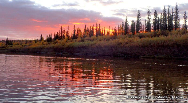 Quelques images des paysages lors de la descente de la rivière