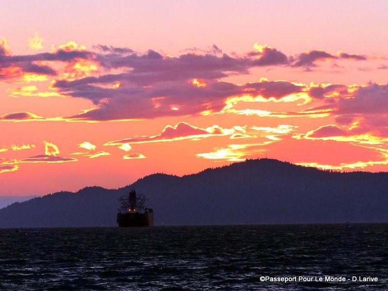 English Bay : des couchers de soleil à tomber !