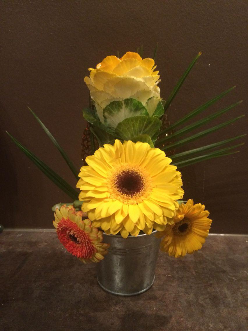 Nouvelle Composition Florale Th Me De L Automne D Coration Florale Id E Deco De Mariage Et
