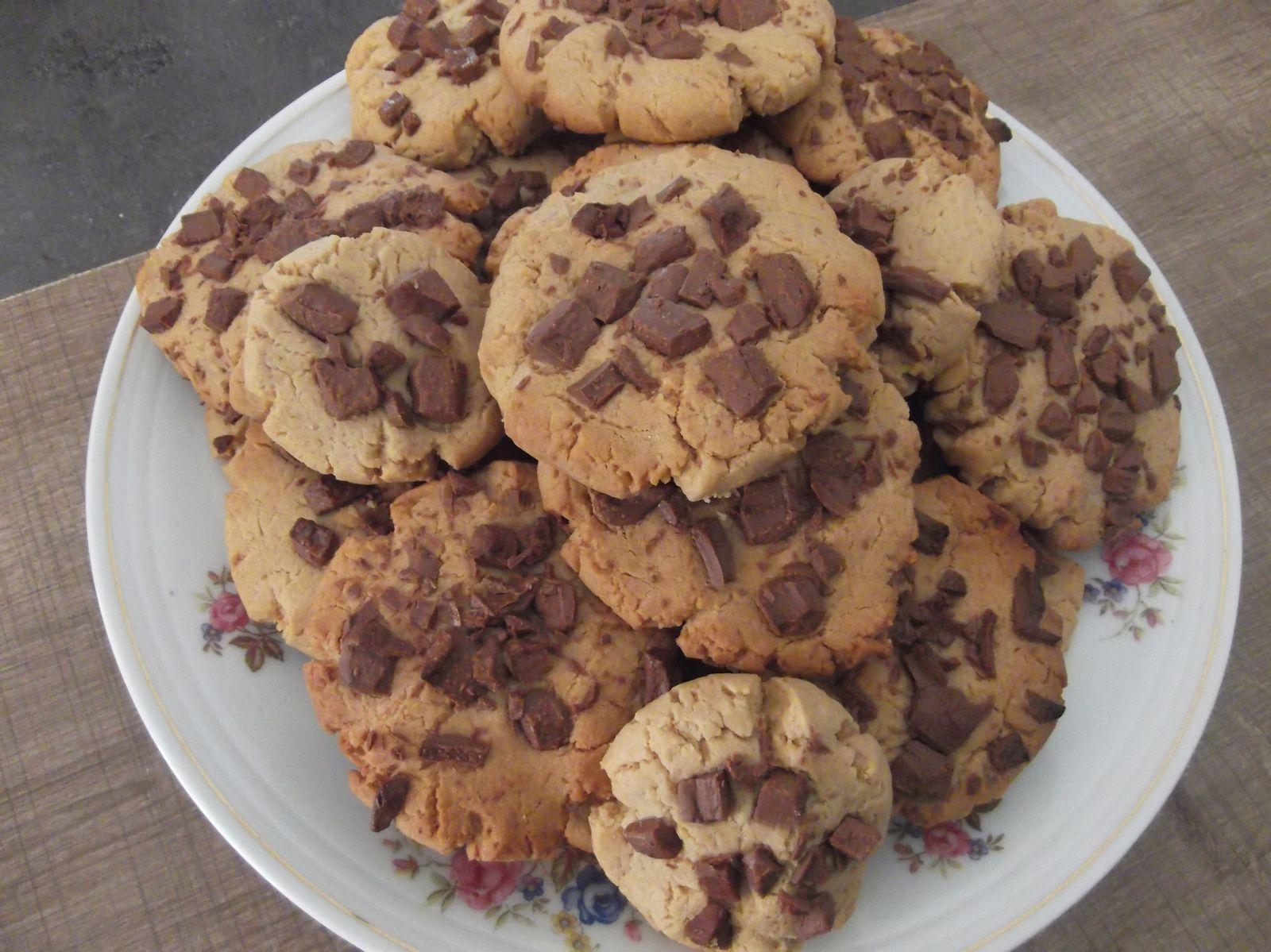 Cookies beurre de cacahuete mes sweet delices - Cookies beurre de cacahuete ...