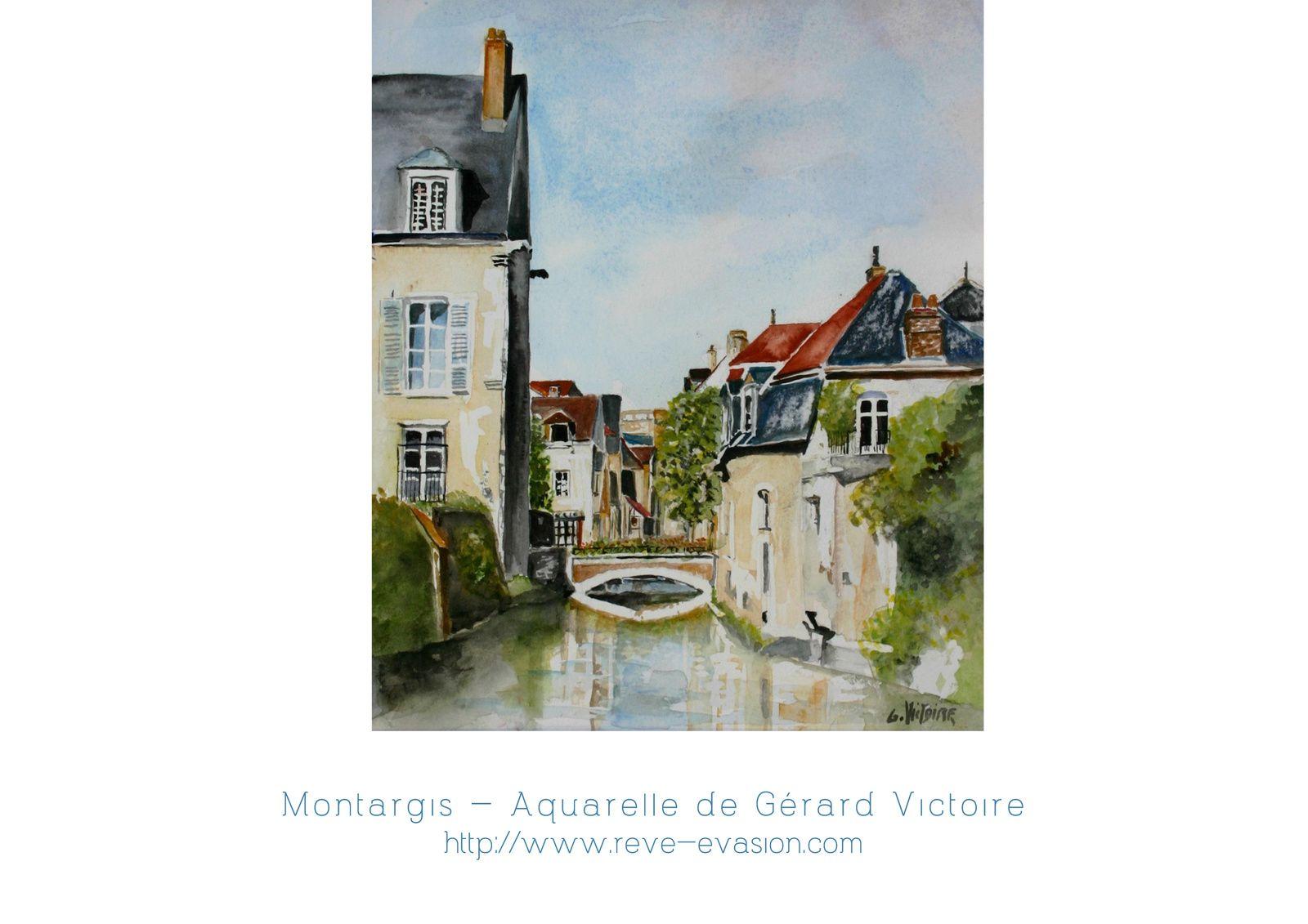 Canal du Loing et Montargis Printemps 2015