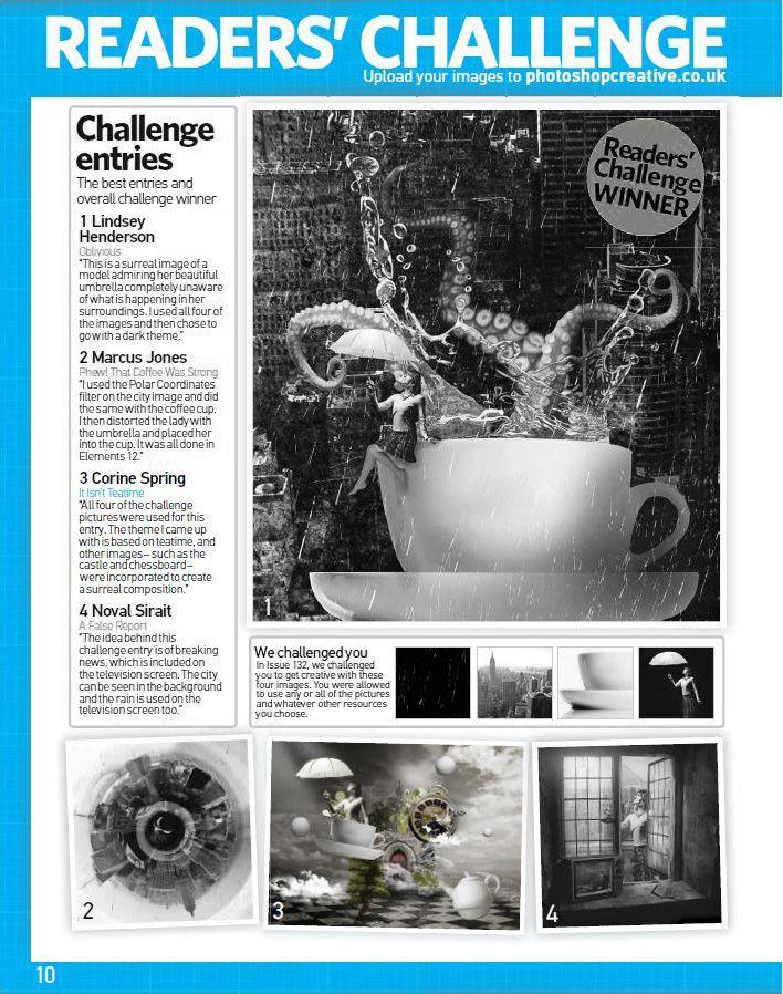 3 ème place au reader's challenge 134